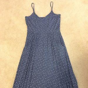 WORN ONCE Spaghetti Strap knee length dress